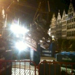 And then we have the demolition... It's a fact, World Cup Trial Antwerp 2013 bye bye